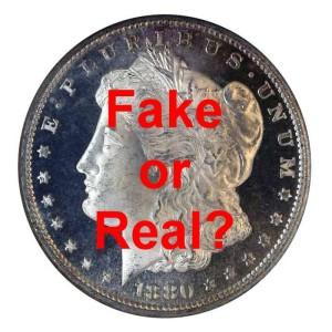 Don't buy a fake Morgan Dollar