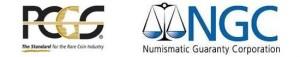 PCGS and NGC Logos